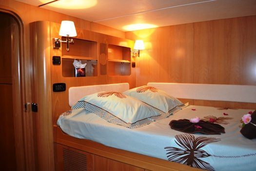 Guest Cabin 4 (starboard forward)