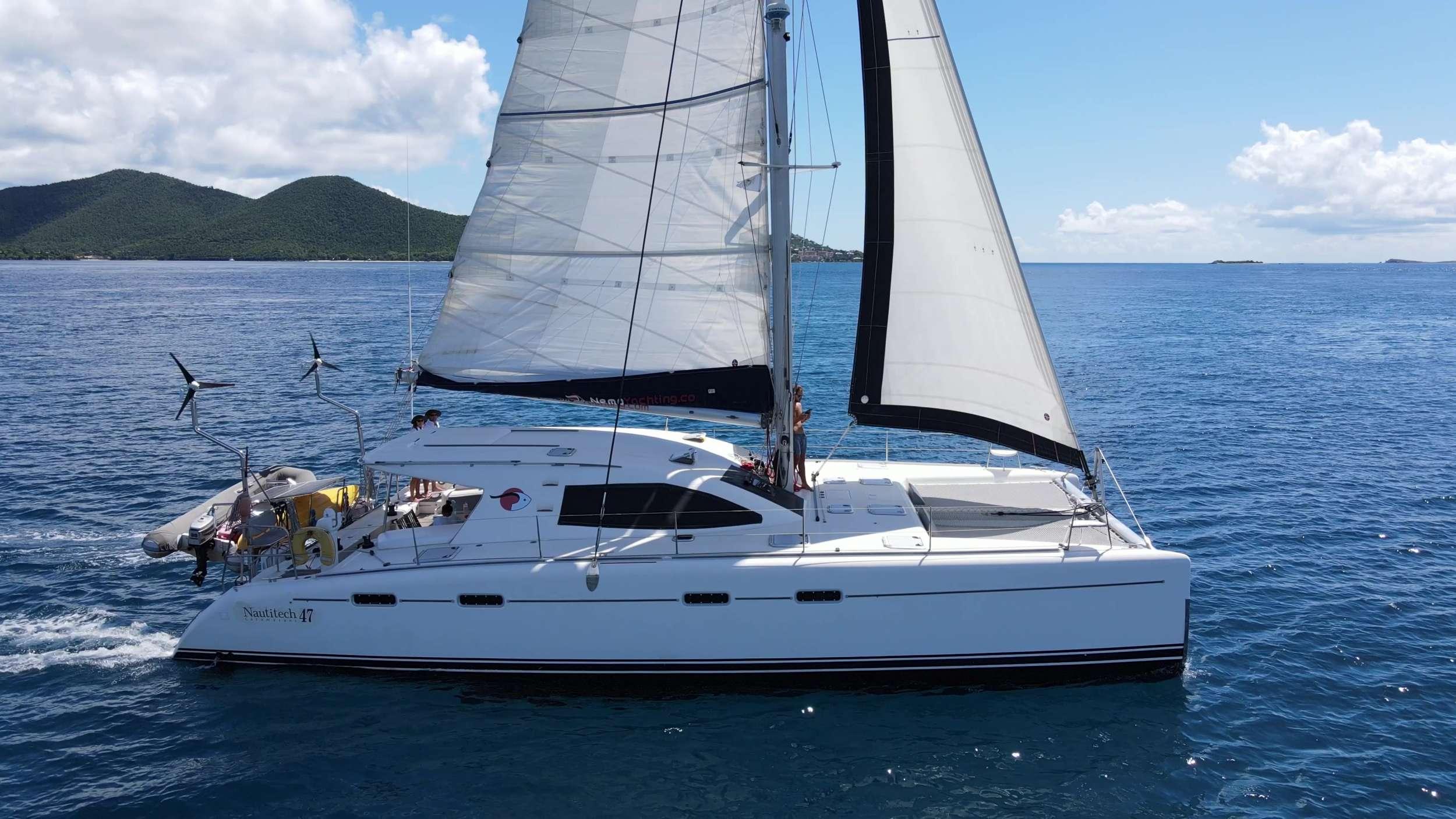 Great sailing shot of NEMO!