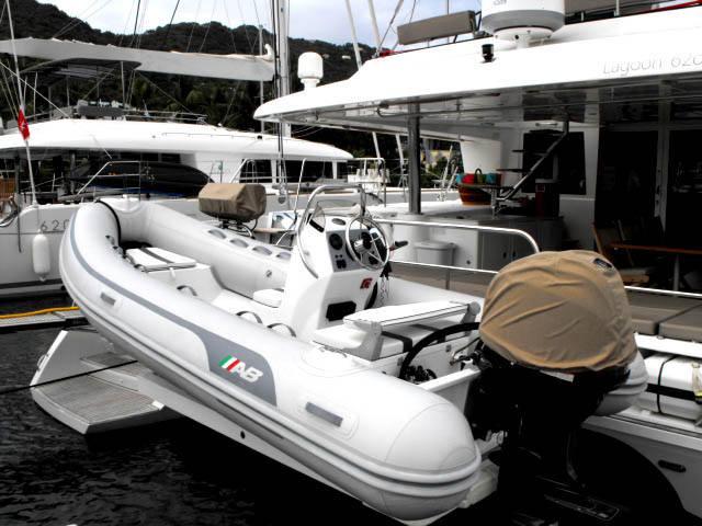 Large fast dinghy