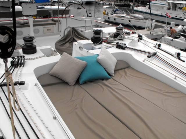 Top deck sun lounge