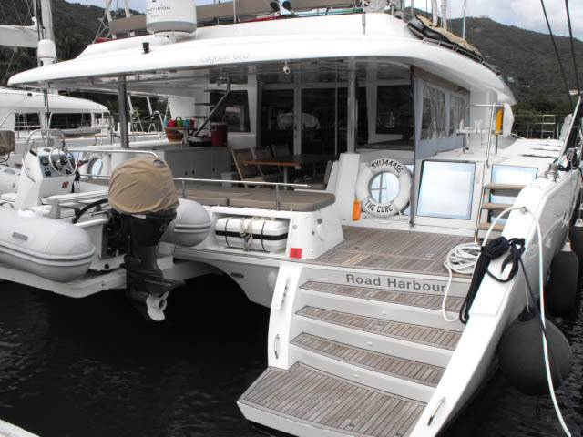 Easy access from dock