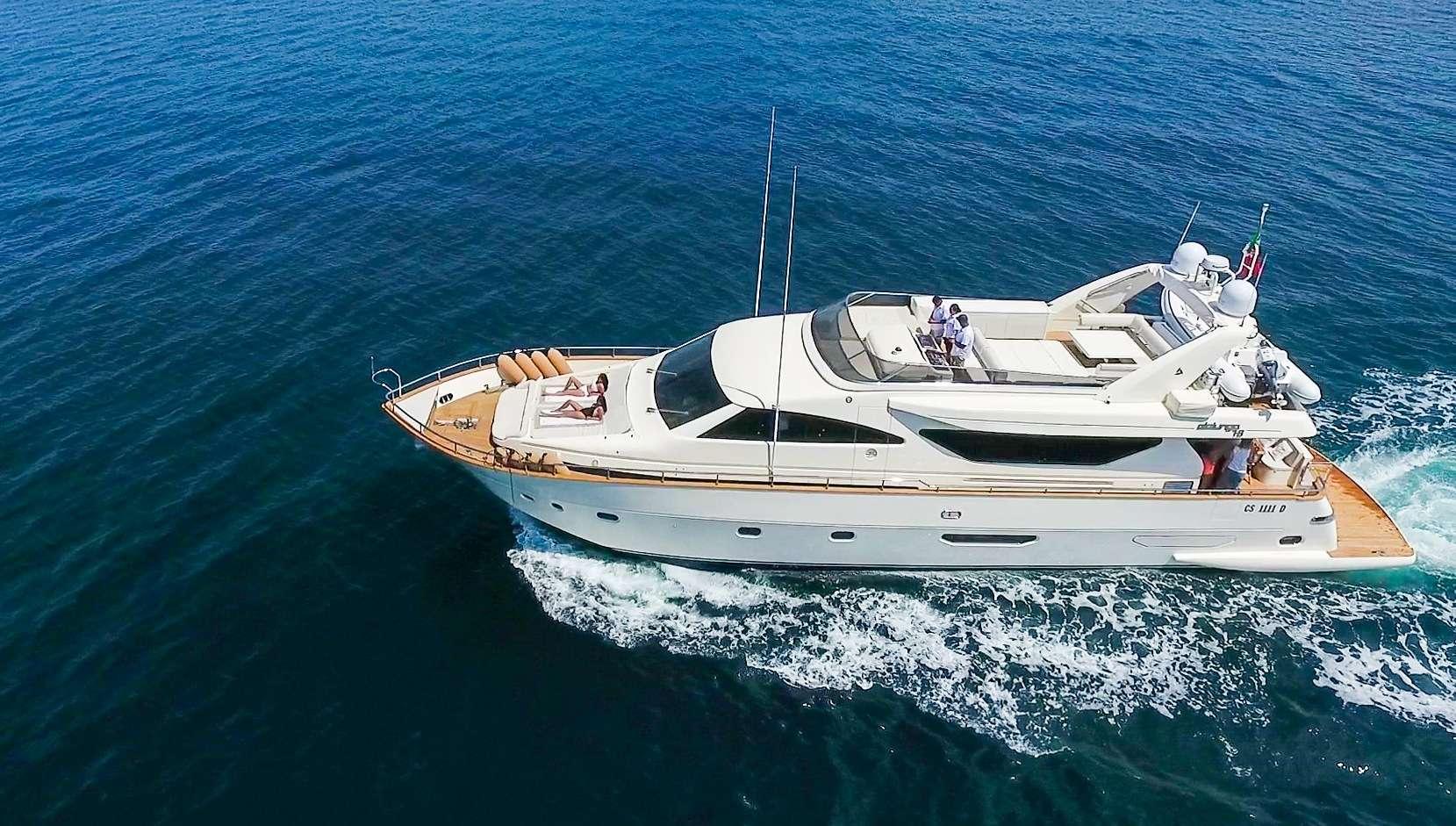 M/Y Riviera at anchor