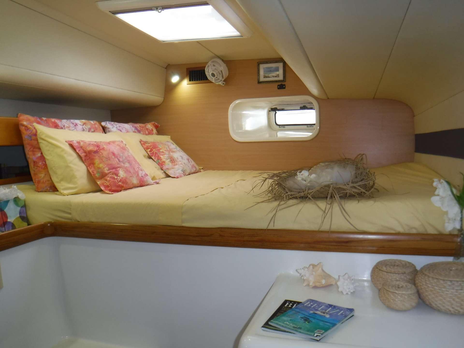 Guest cabin #1 with queen berth