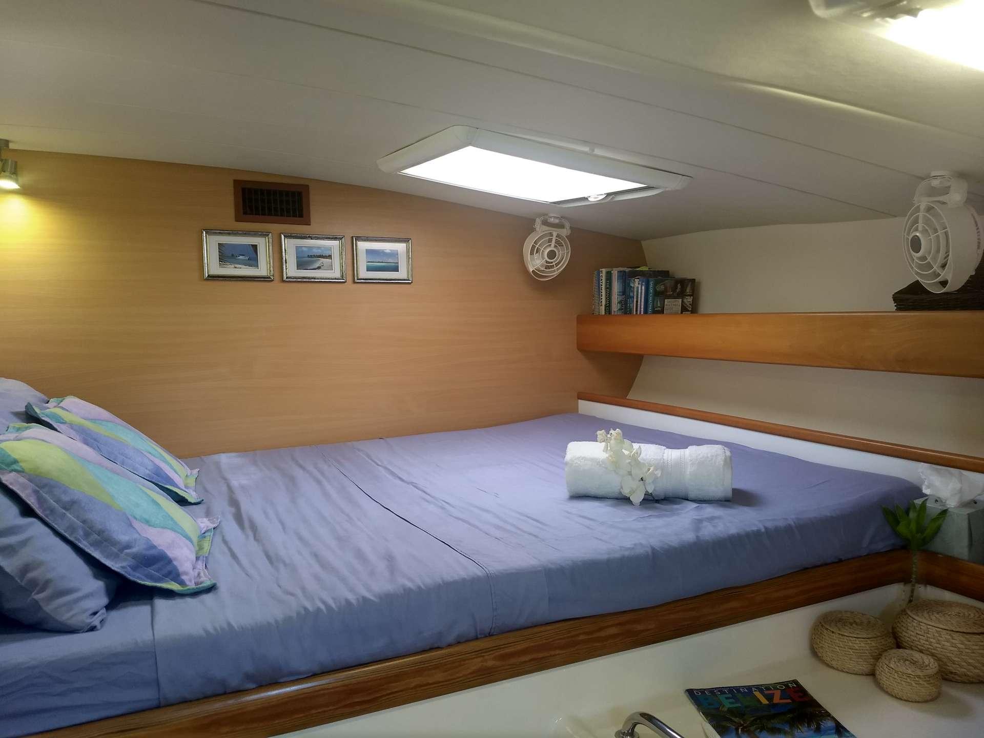 Guest cabin #2 with queen berth