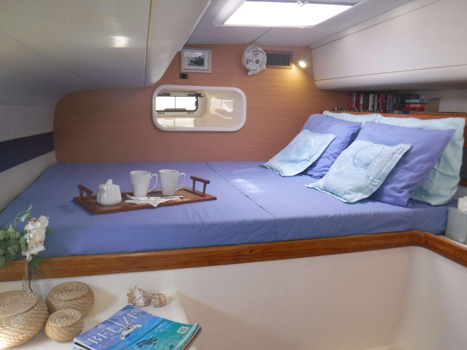 Guest cabin #3 with queen berth
