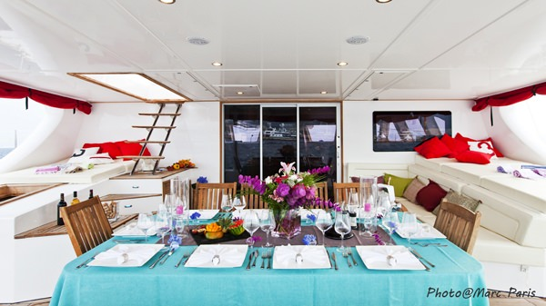 Table aft deck