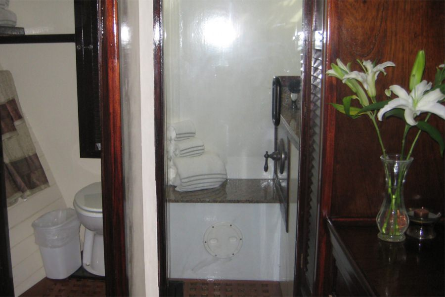 Bathroom and separate shower