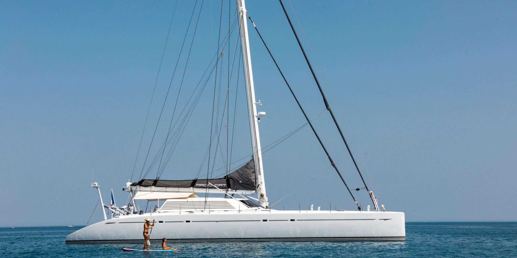 Catamaran Charter Magic Cat