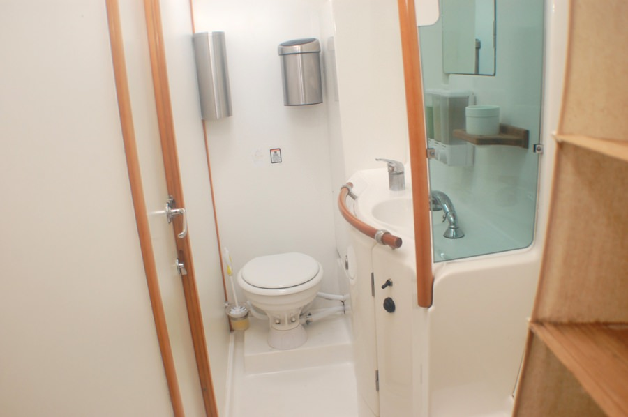 Large bathrooms.
