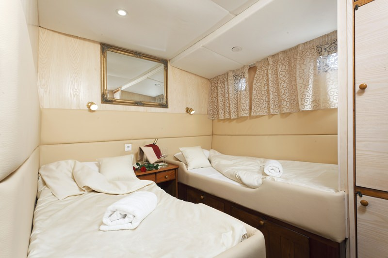 Aborda - guest cabin
