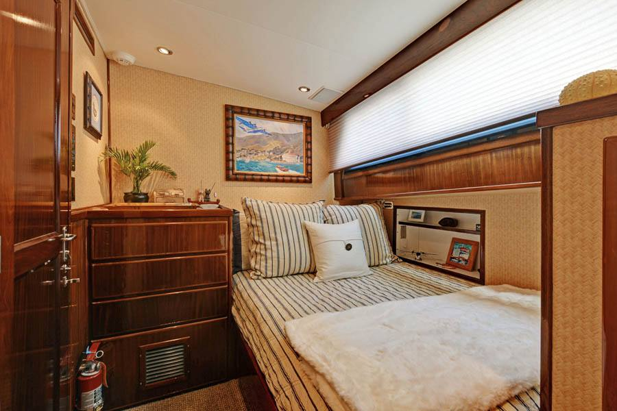 Guest Stateroom with 1 Queen Bed
