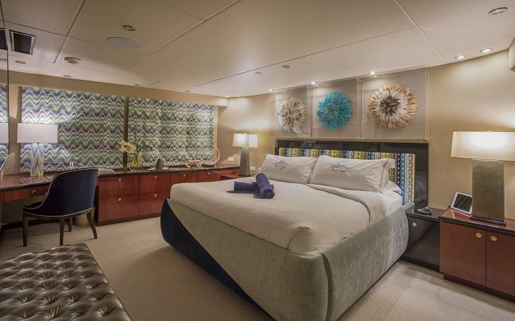 VIP King Stateroom on deck