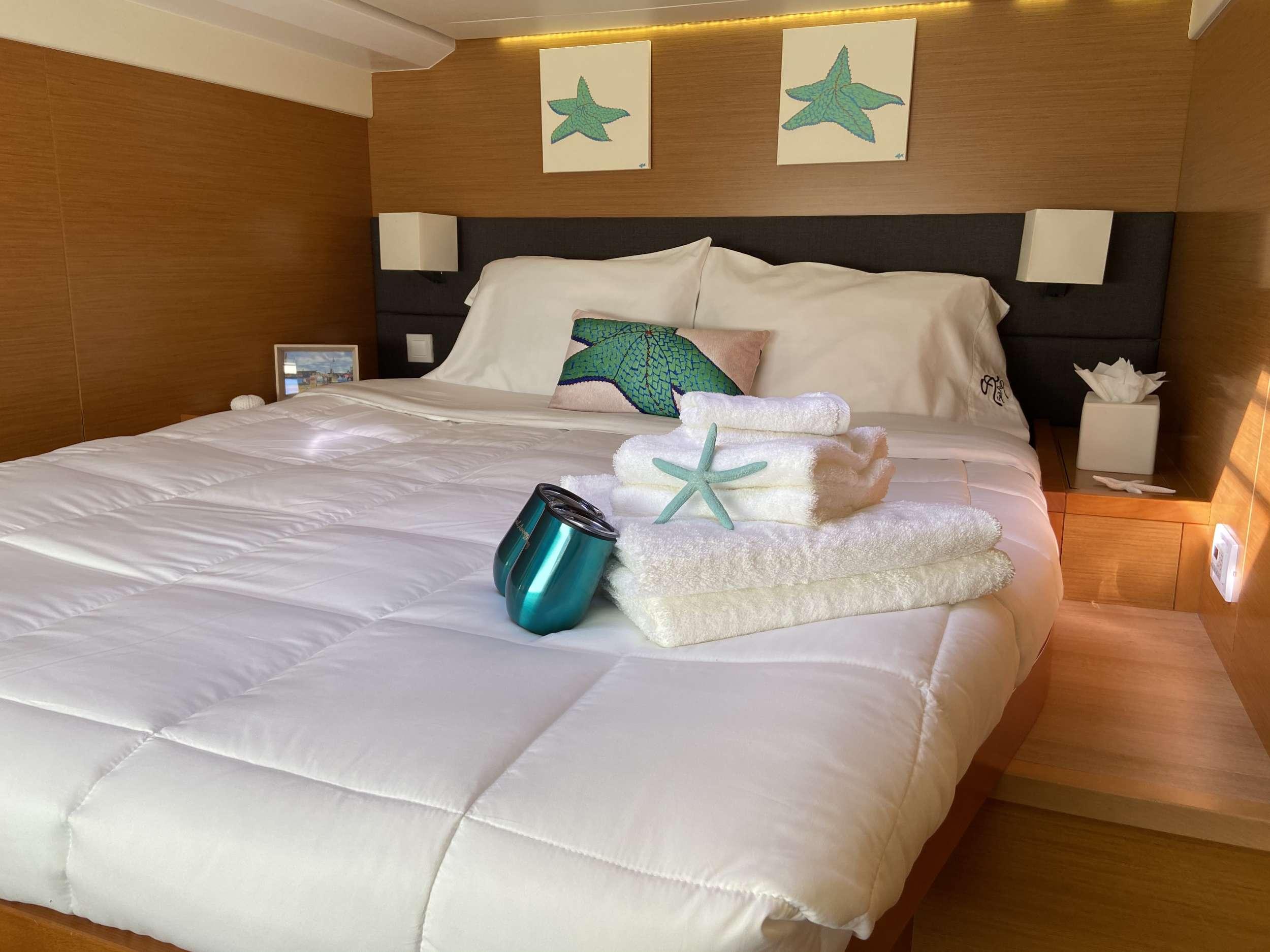 Guest aft double cabin (startboard)