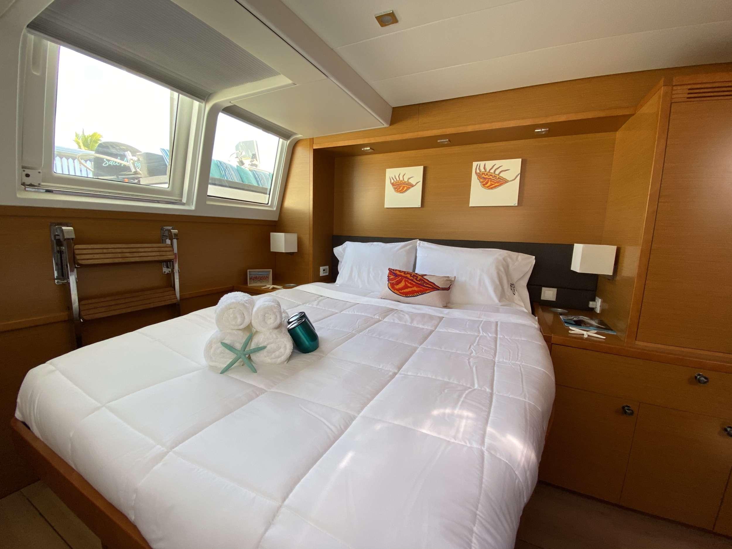 Guest aft double cabin (port side)