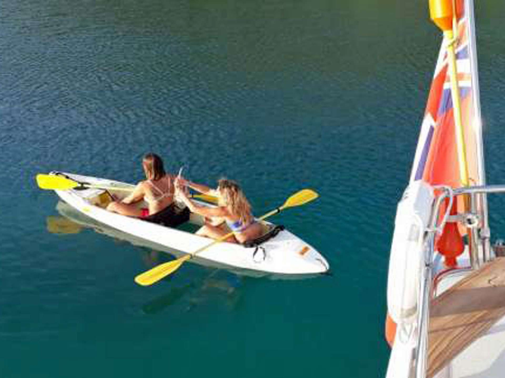 Fun in the Kayak