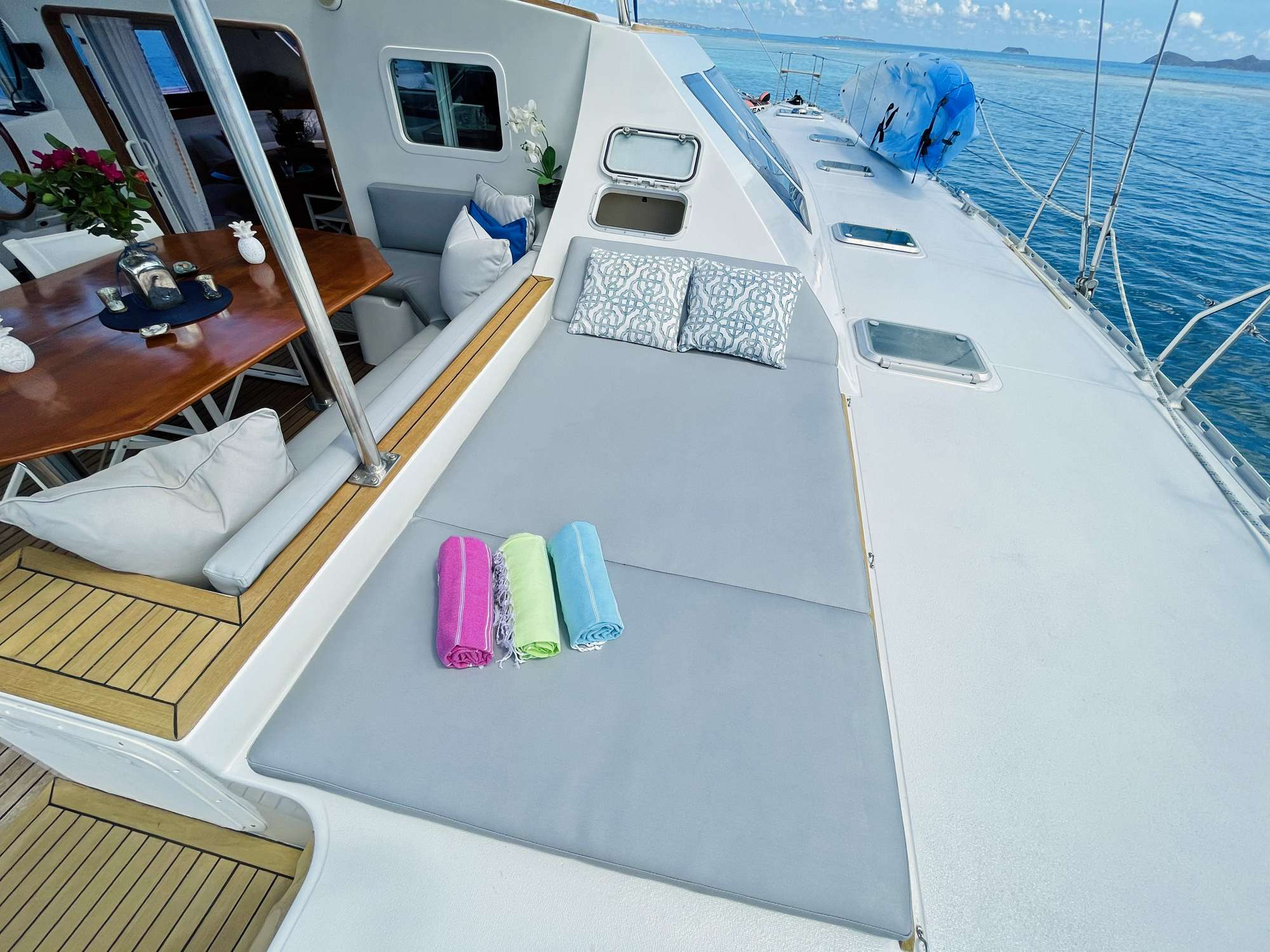 vision yacht charter catamaran ritzy charters