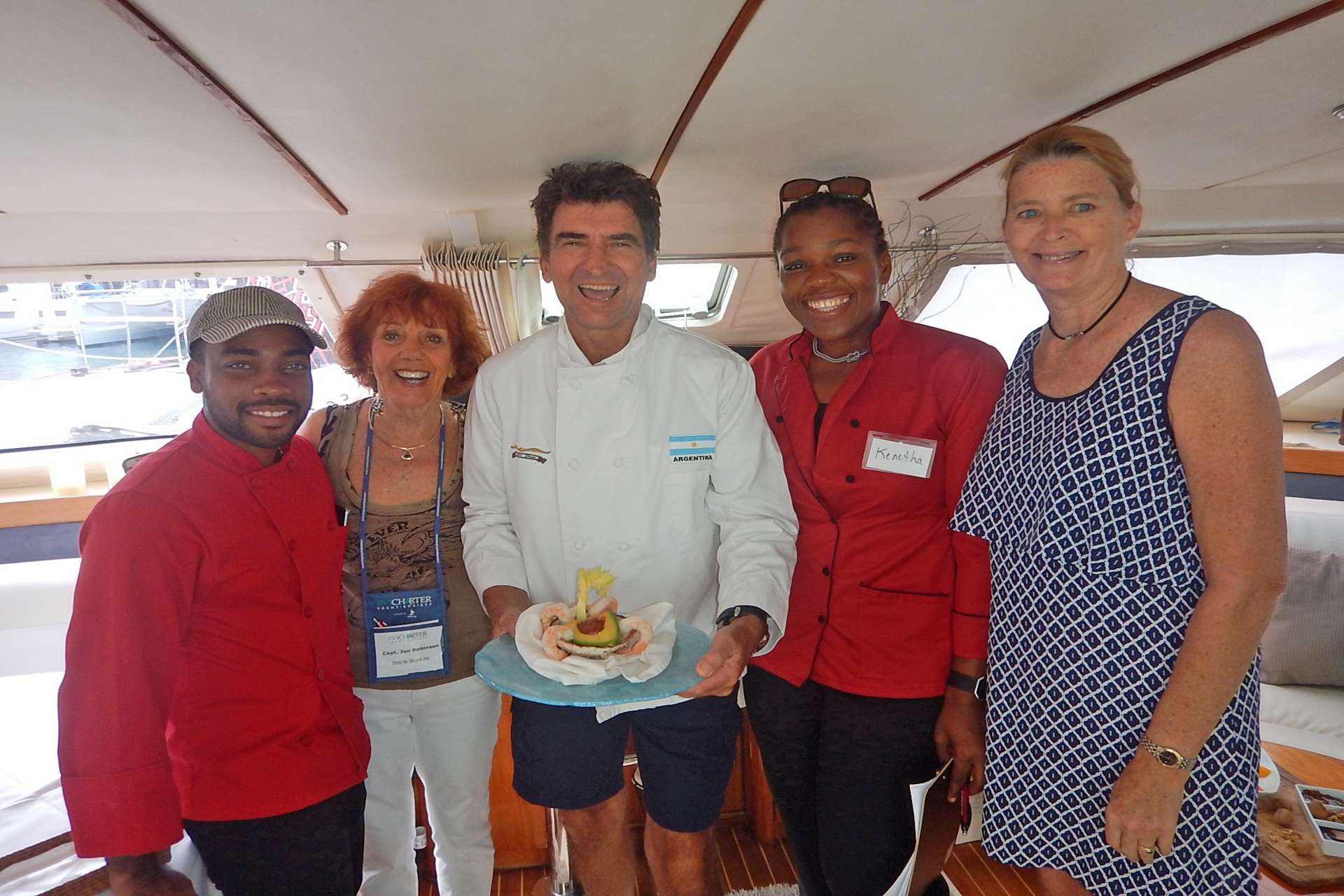 Captain Charly & Yacht Show Judges