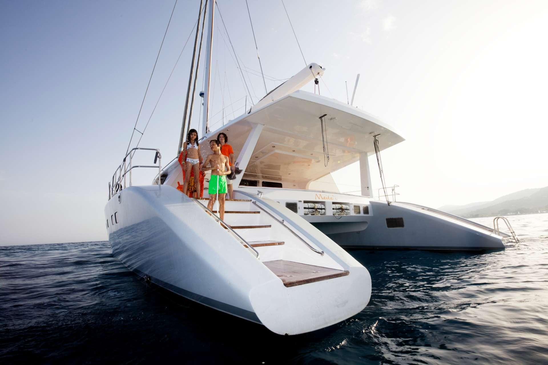 Catamaran Charter Maita