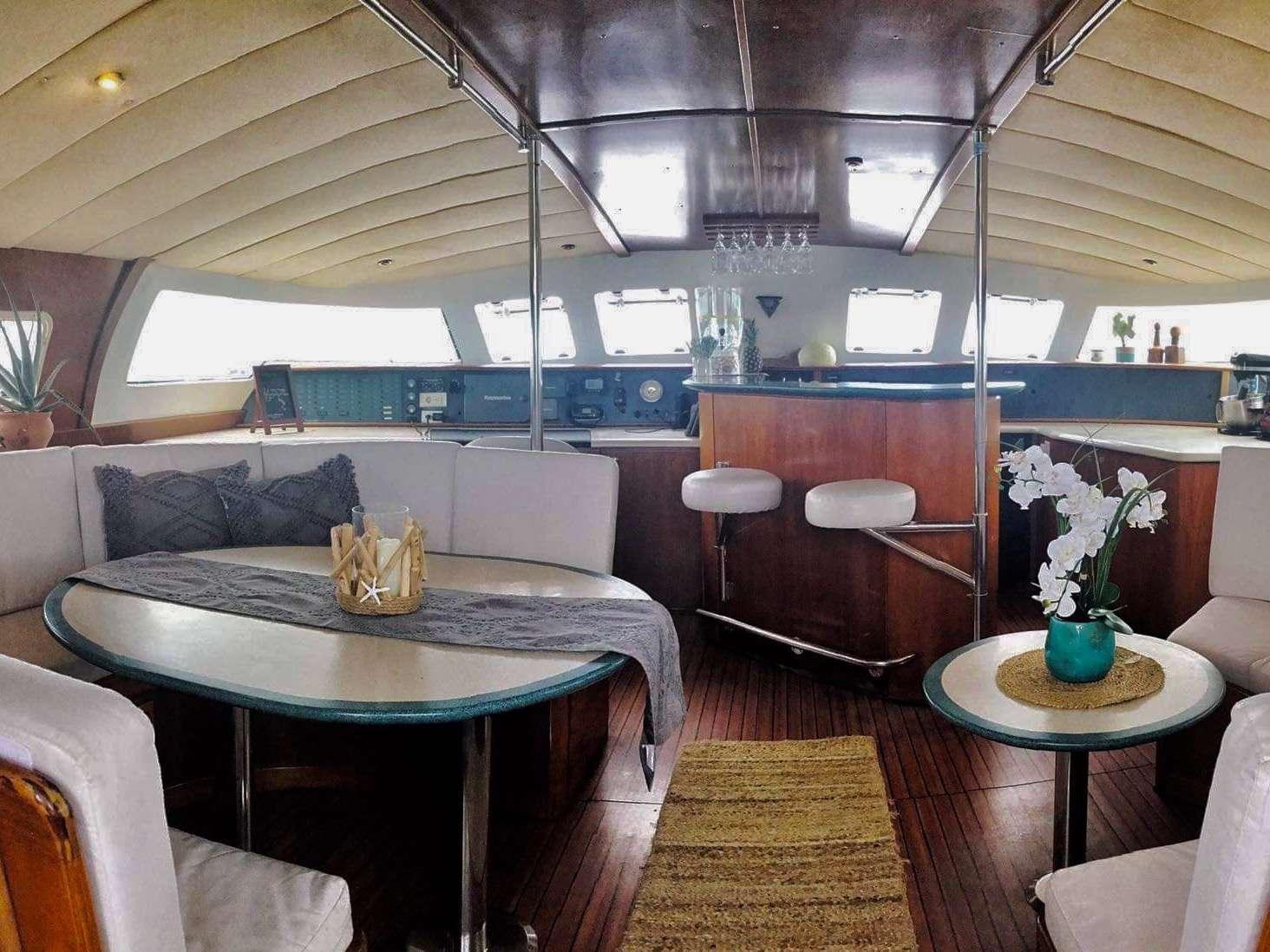 Main Salon Starboard side