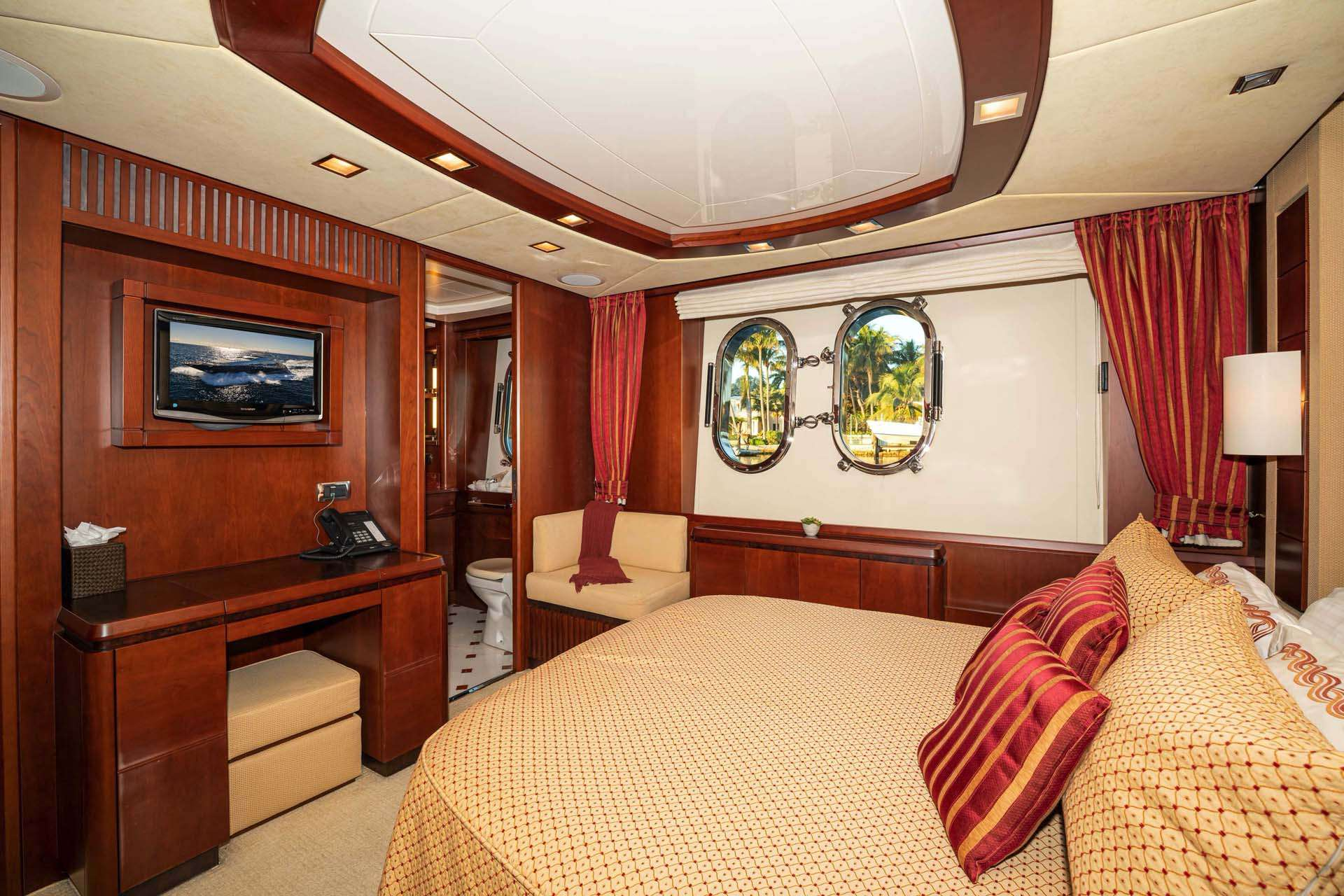 Guest Stateroom, port