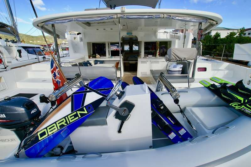 Wake board or water ski with instructor