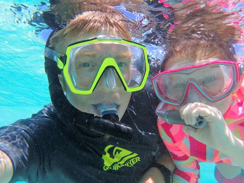 First time snorkel