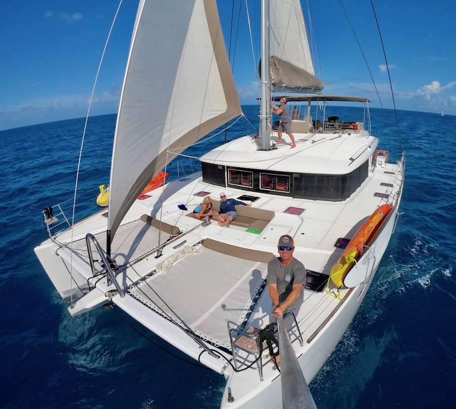 Catamaran Charter Copper Penny