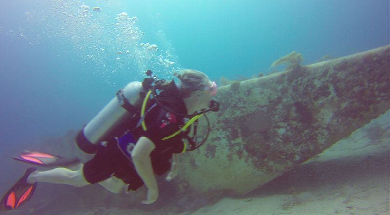 Diving on Sunken Wrecks