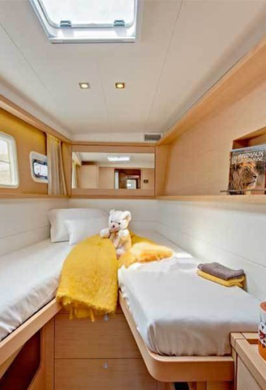 Comfortable and Luxurious cabins!