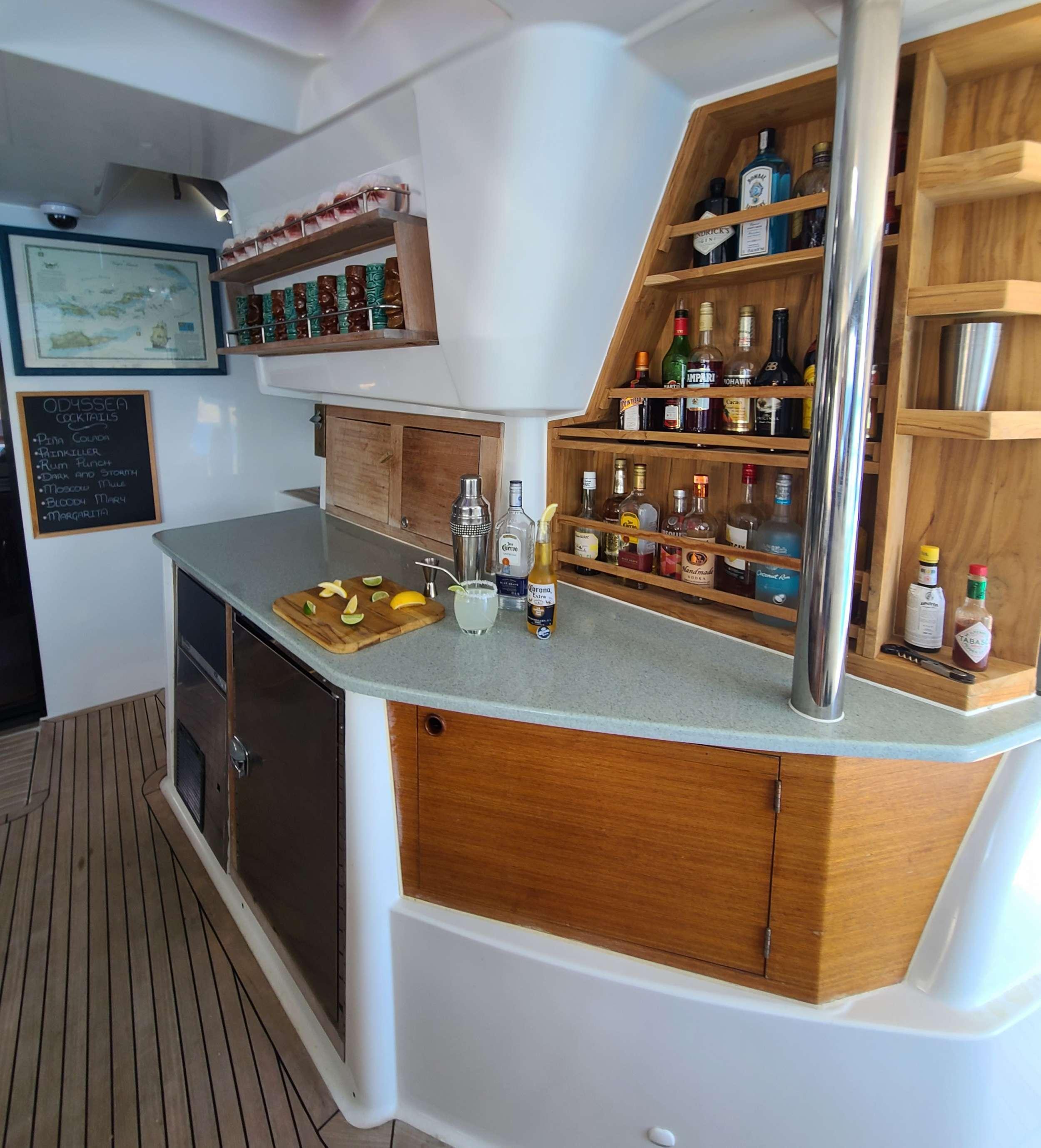 Catamaran Charter Slivochka