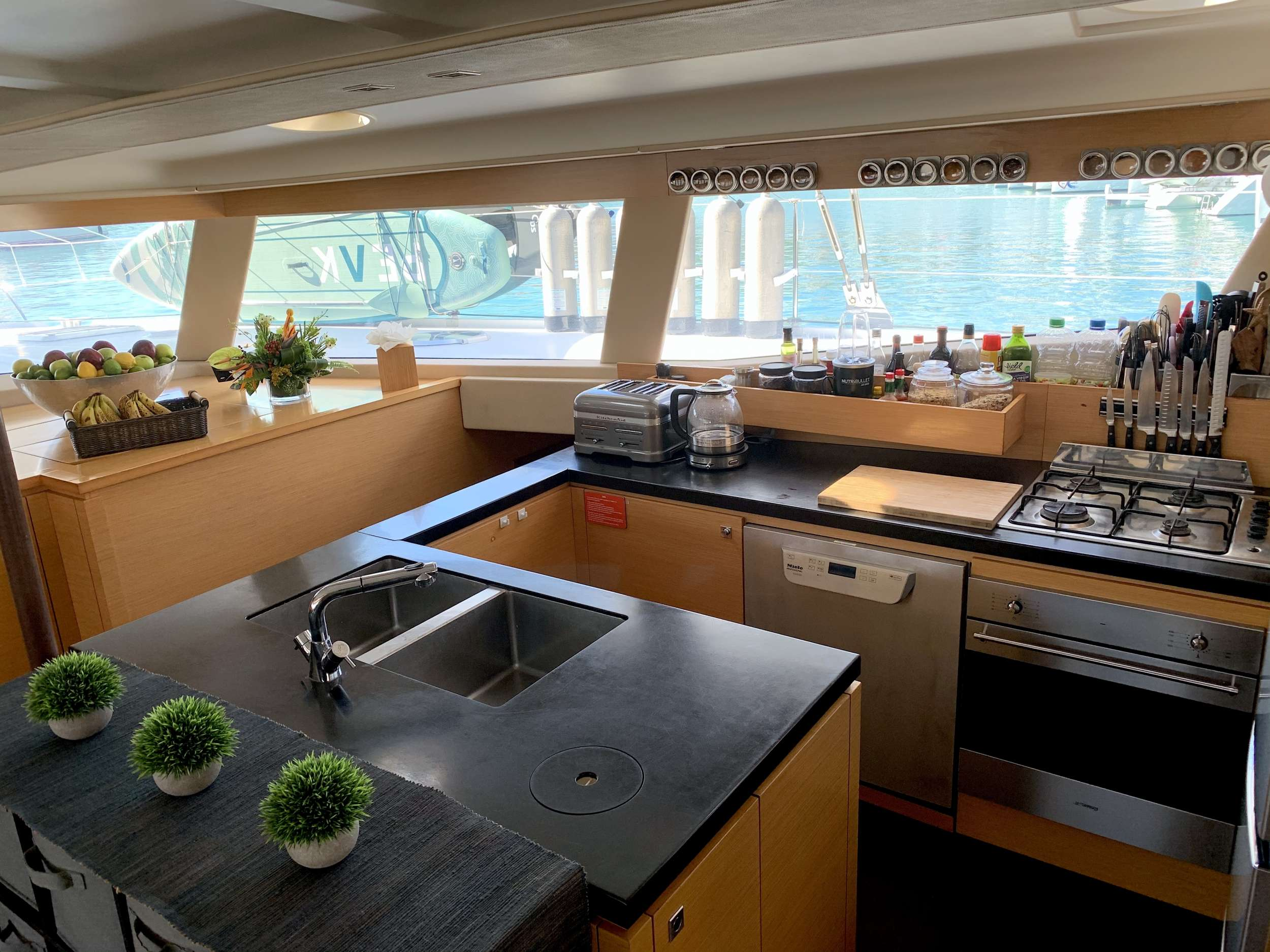 Galley and Coffee Station