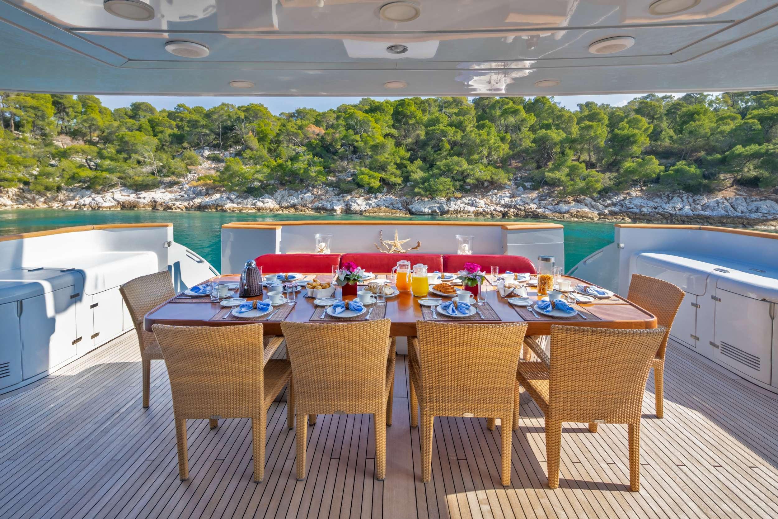 motor yacht GLAROS