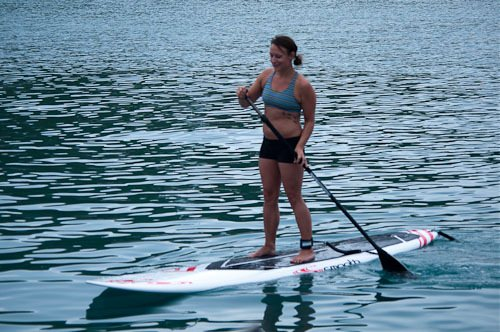 Paddleboarding is easy and fun!