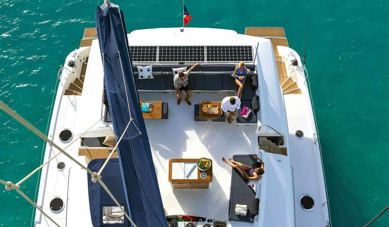 Catamaran Charter Aletheia