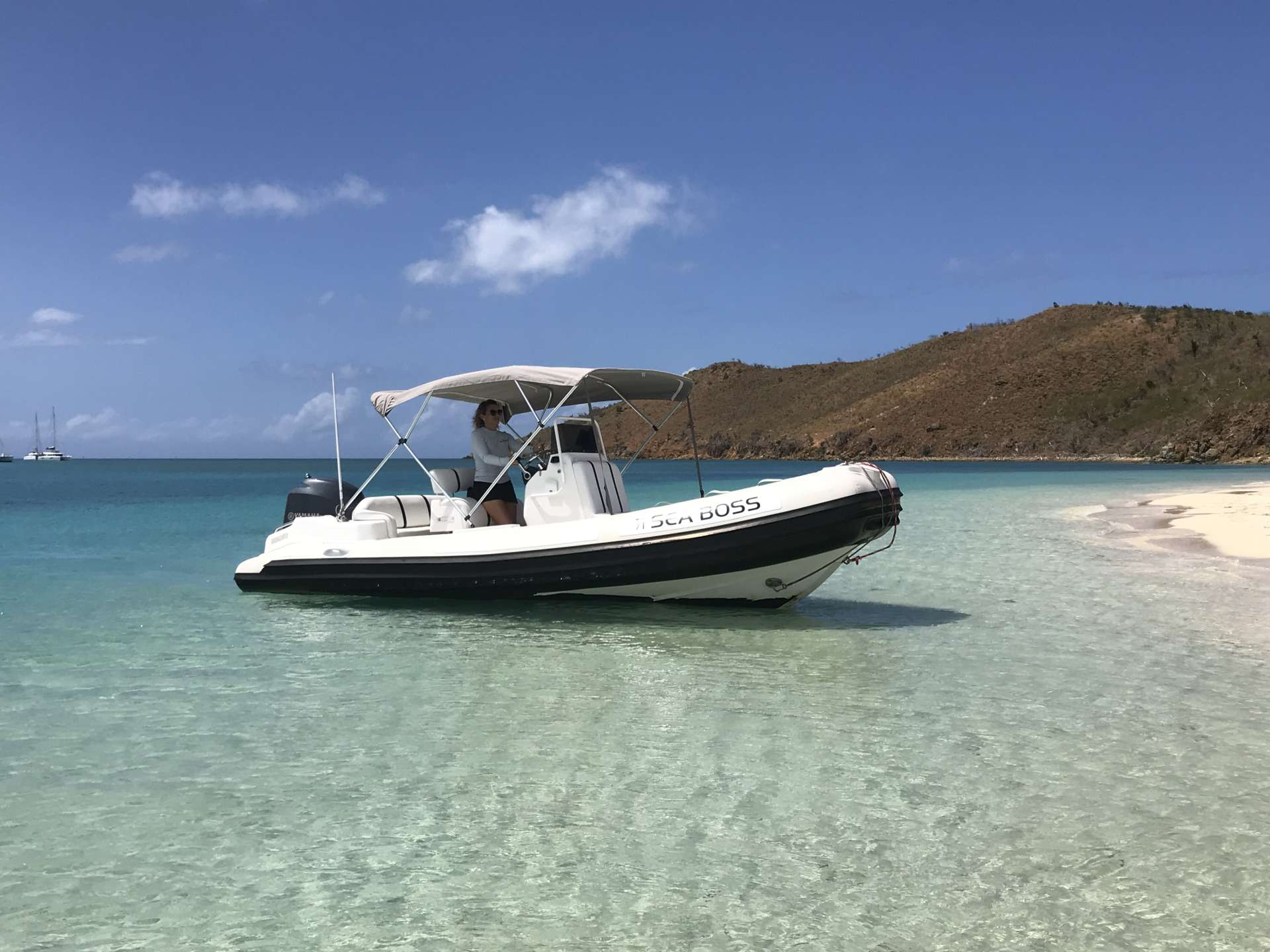 19 ft tender (BVI only)