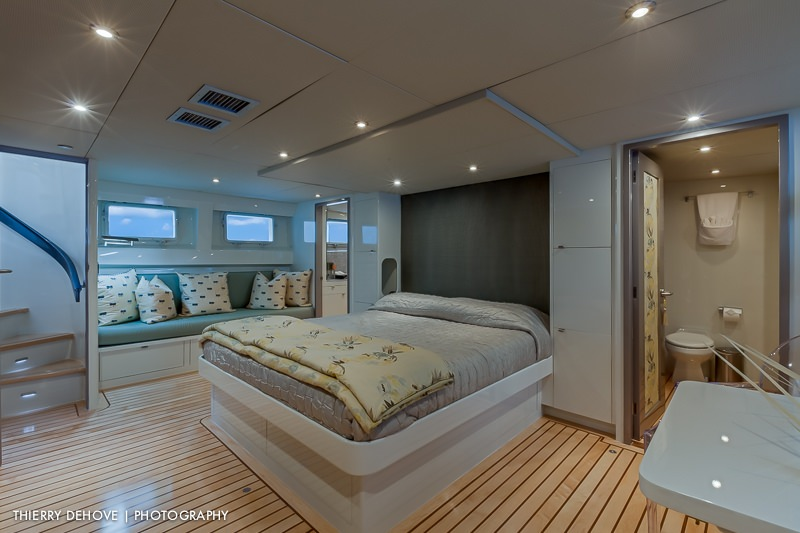 Master Stateroom stbd view