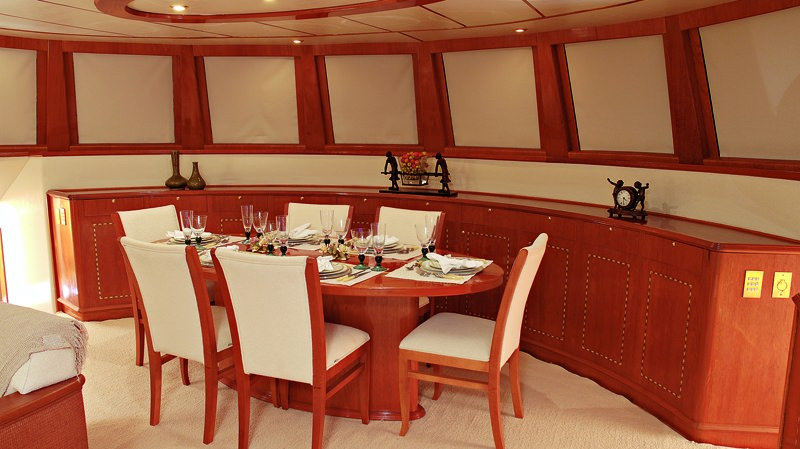 Formal Interior Dining for 10