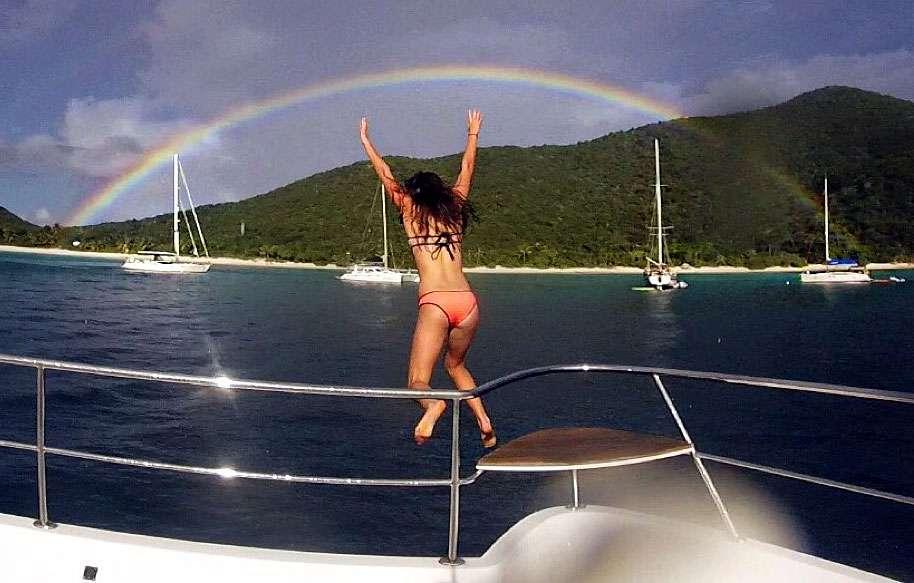Rainbow Jumping