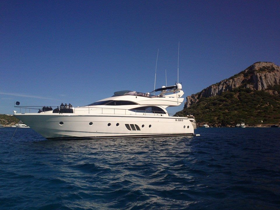 M/Y Jaco at anchor