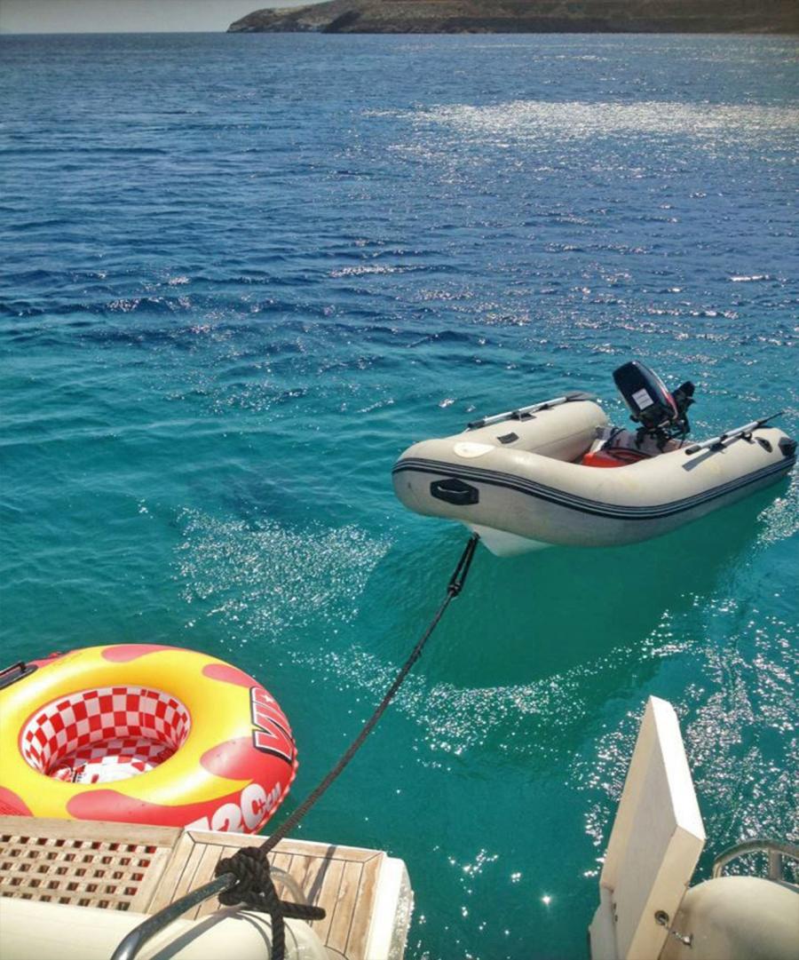 Johnson dinghy 15hp