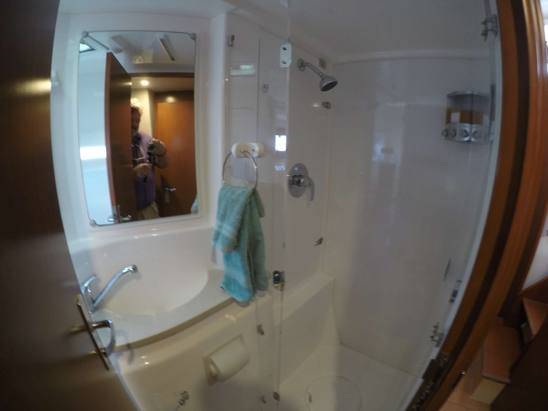 VIP head and shower