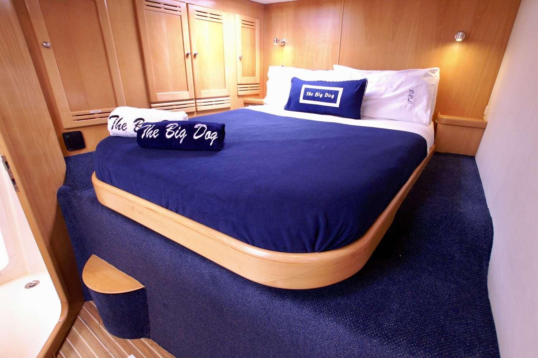 Queen guest cabin #1