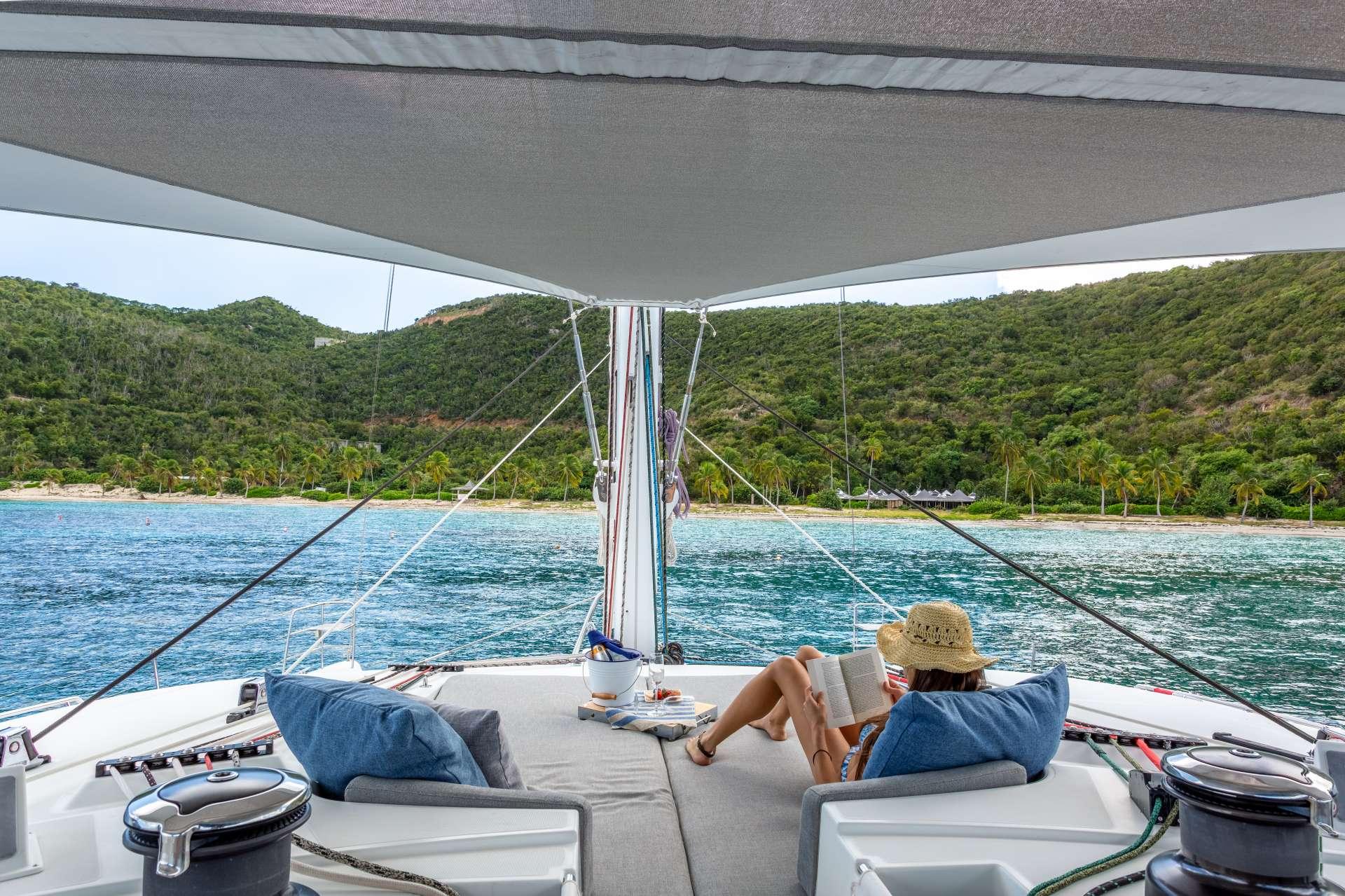 Catamaran Charter Serenity Now
