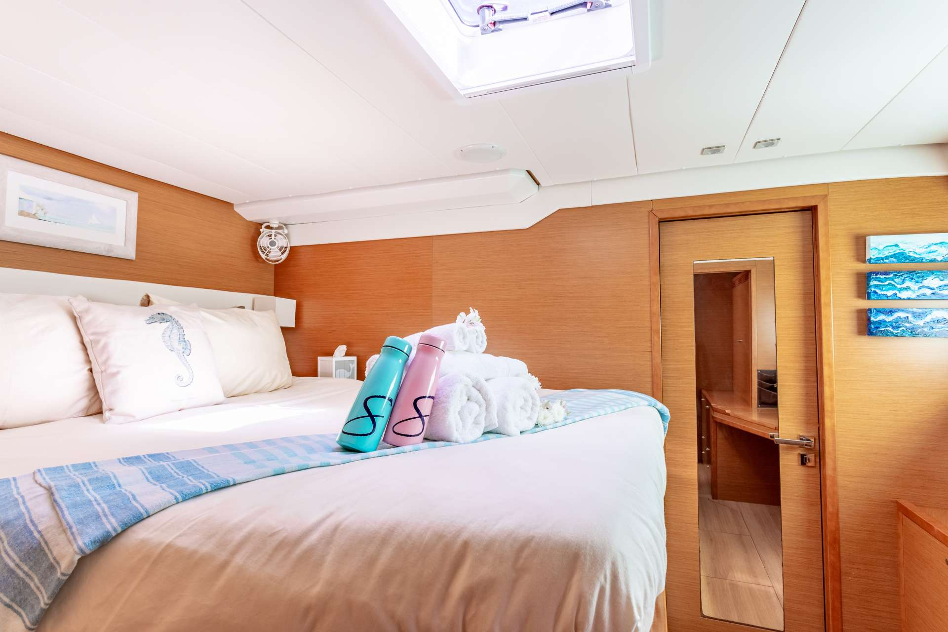 All Guest Cabins have Ensuite Bath