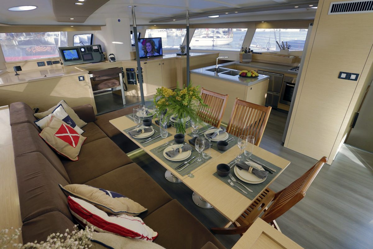 Catamaran Charter Highjinks