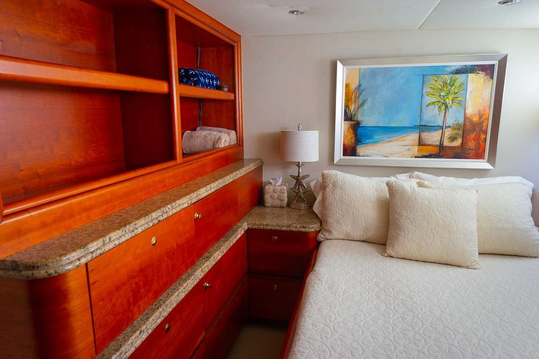 Guest Stateroom 1 - Double Bed