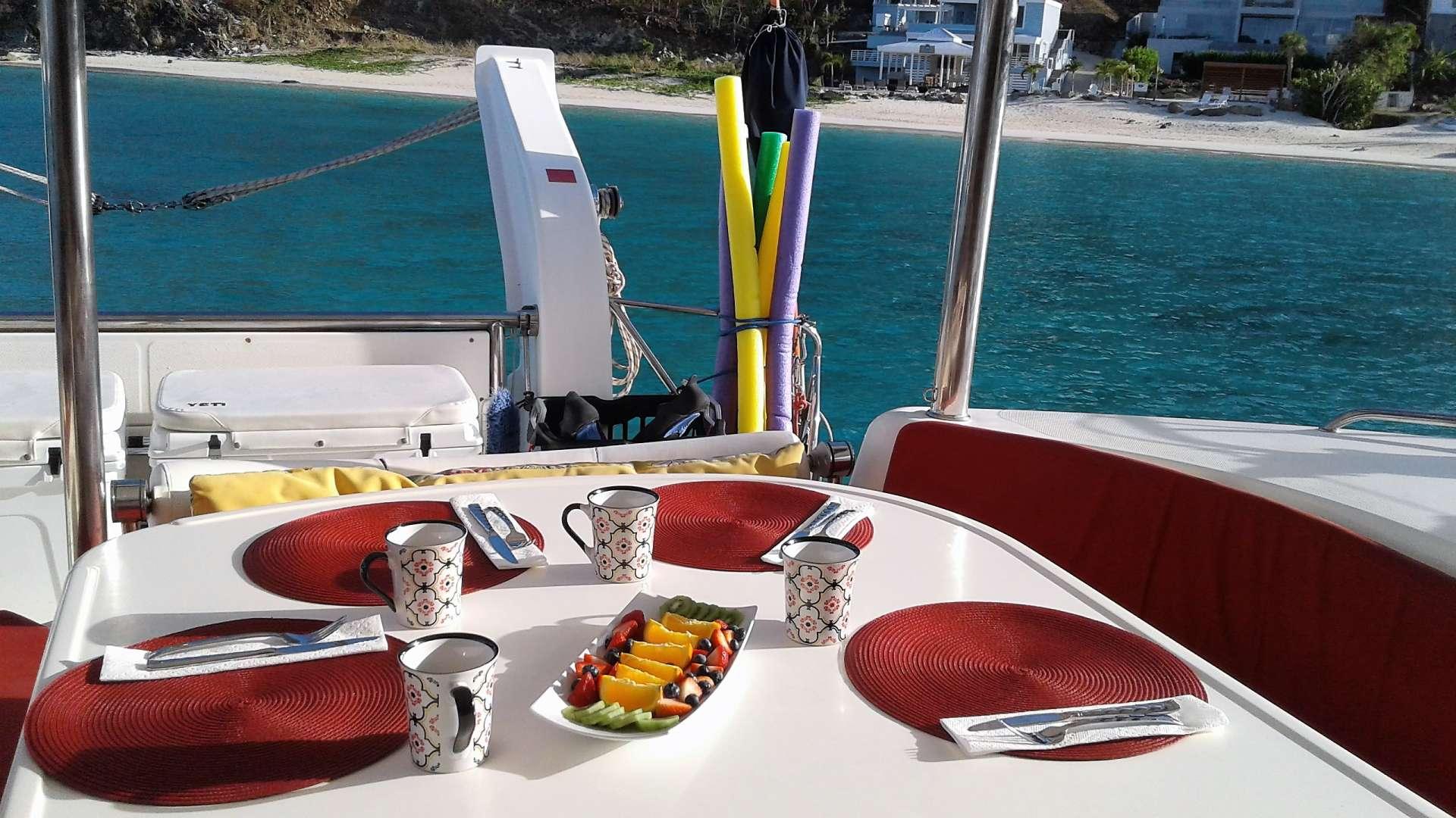 Catamaran Charter Elixir