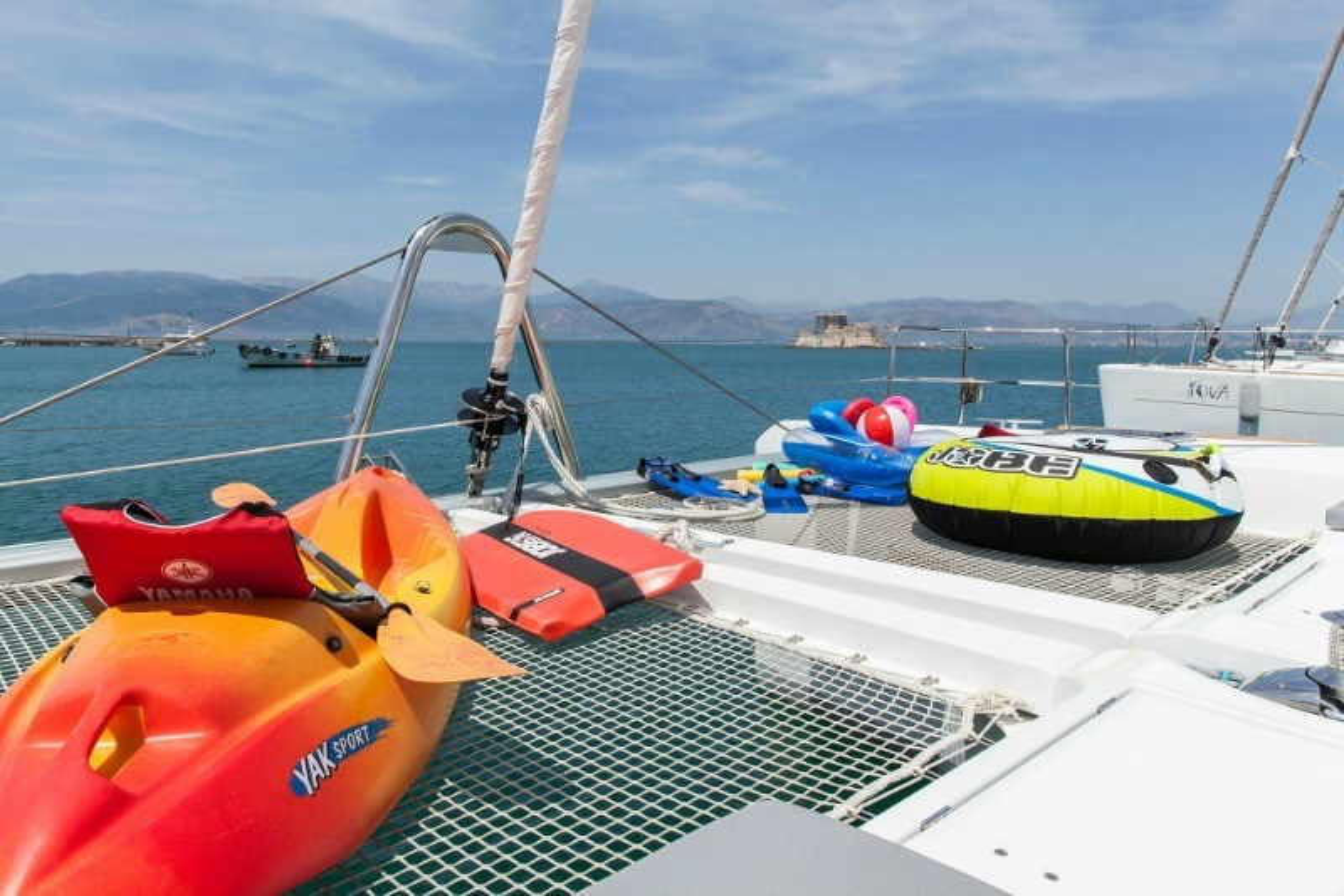Catamaran Charter Serenity