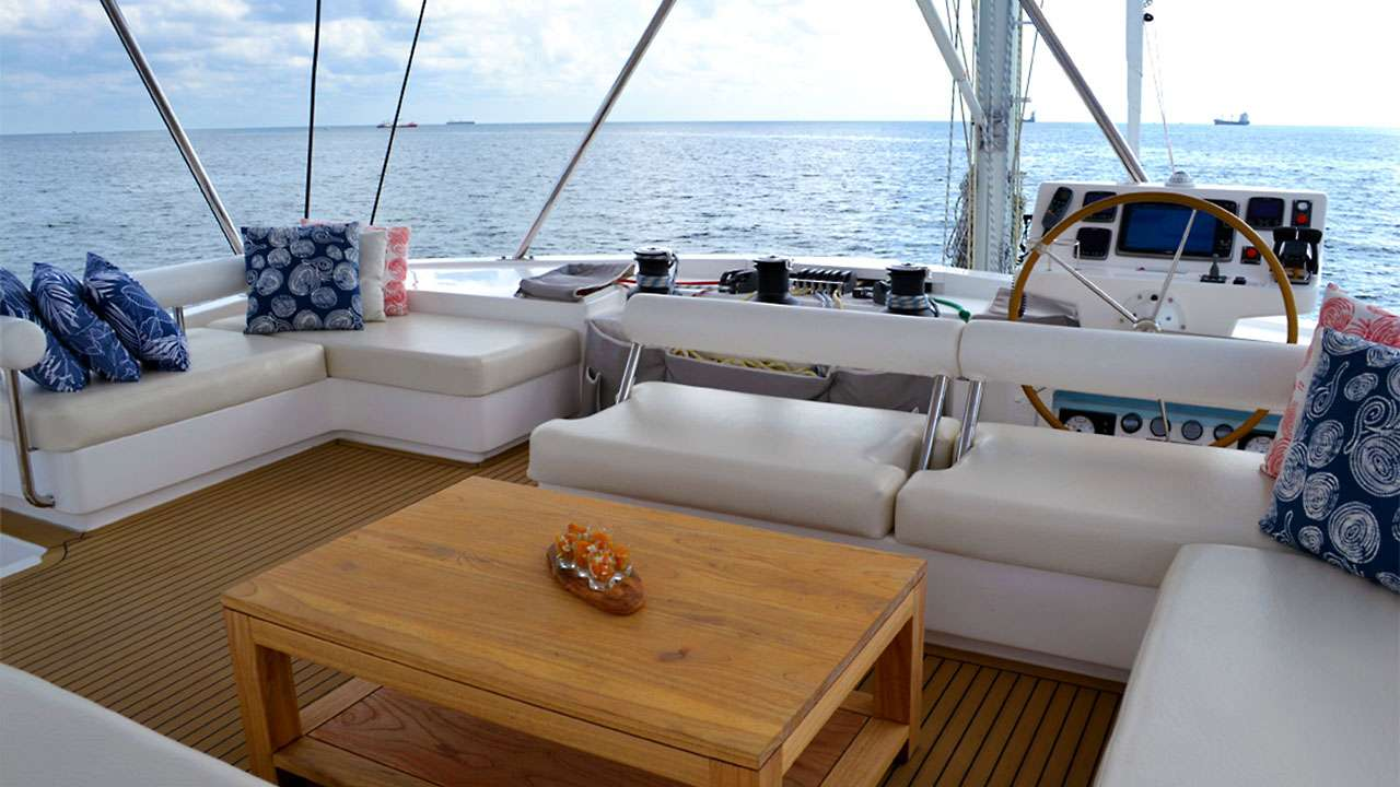 Catamaran Charter Something Wonderful