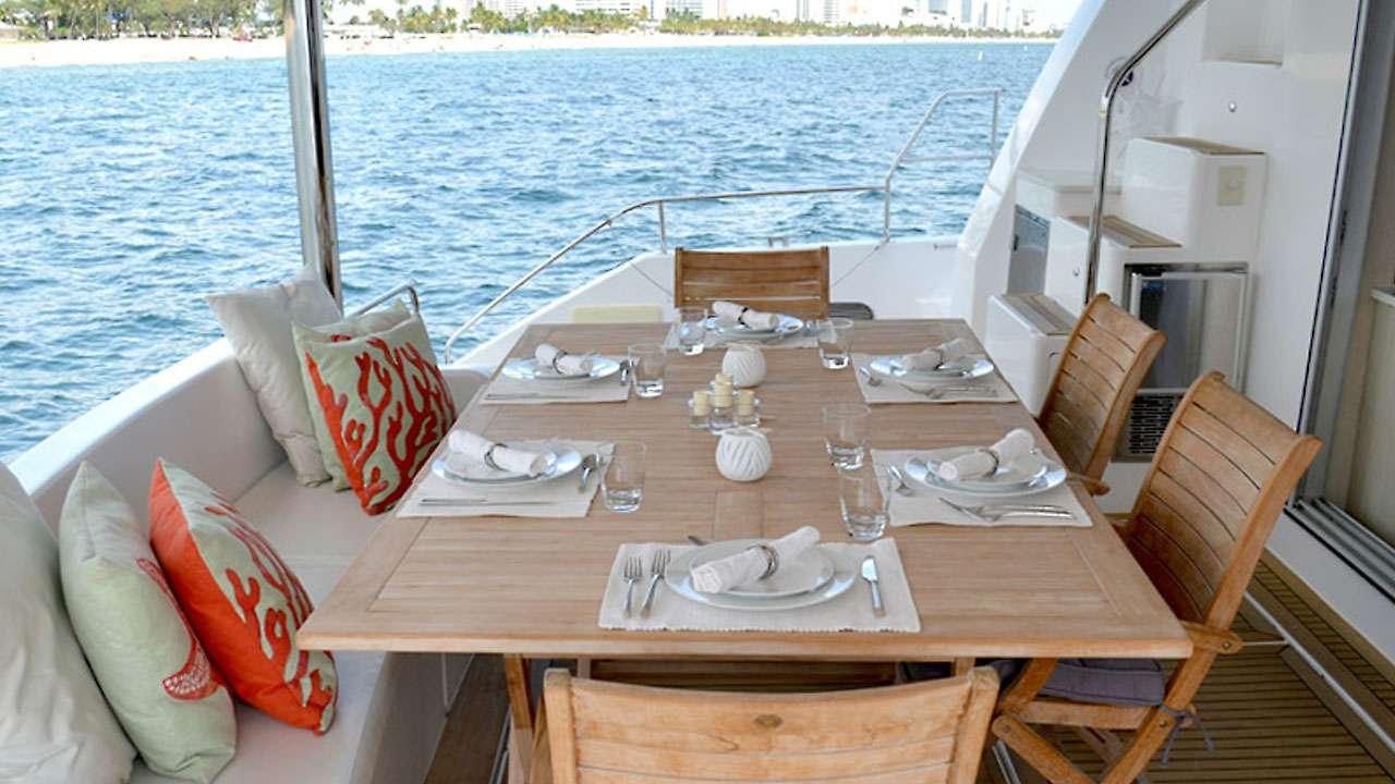 Aft Deck Dining